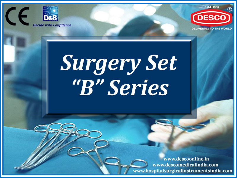 Surgical Instruments Sets B Series