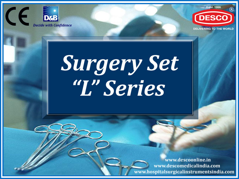 Surgical Instruments Sets L Series