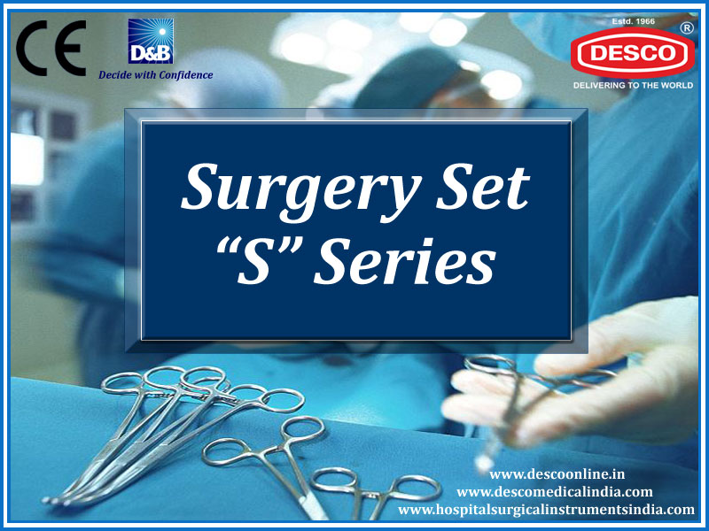Surgical Instruments Sets S Series