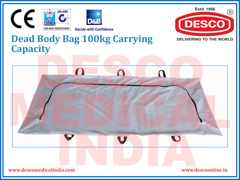 DEAD BODY BAG 100KG CARRYING CAPACITY