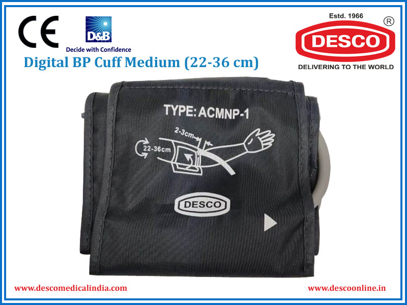 DIGITAL BP CUFF MEDIUM (22-36 CM)
