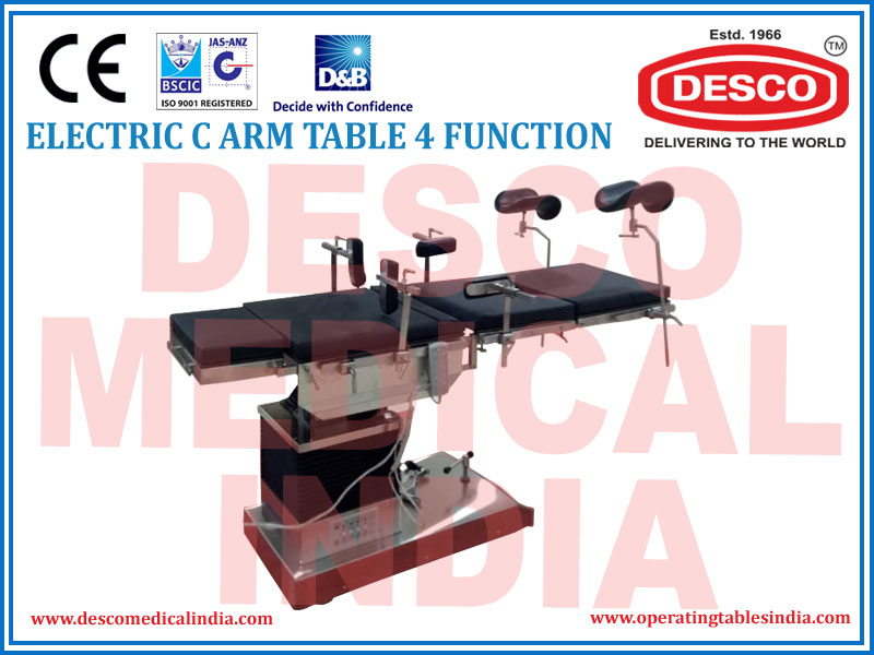 ELECTRIC C-ARM TABLE 4 FUNCTION