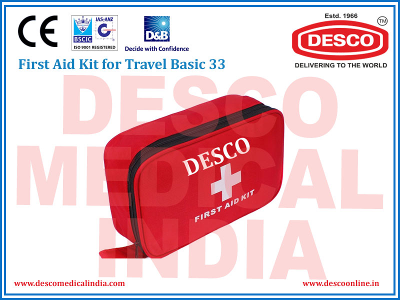 FIRST AID KIT FOR TRAVEL BASIC 29