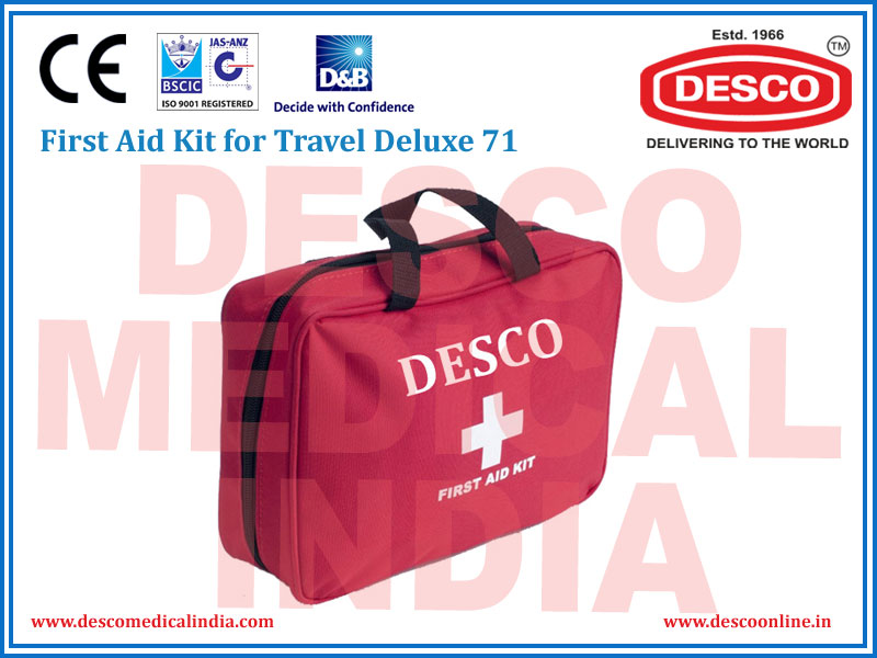FIRST AID KIT FOR TRAVEL DELUXE 88