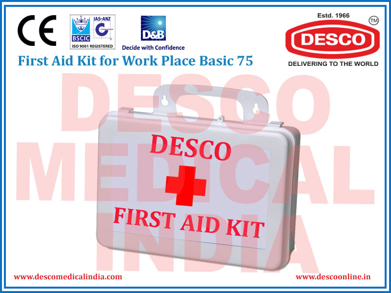 FIRST AID KIT FOR WORK BASIC 69