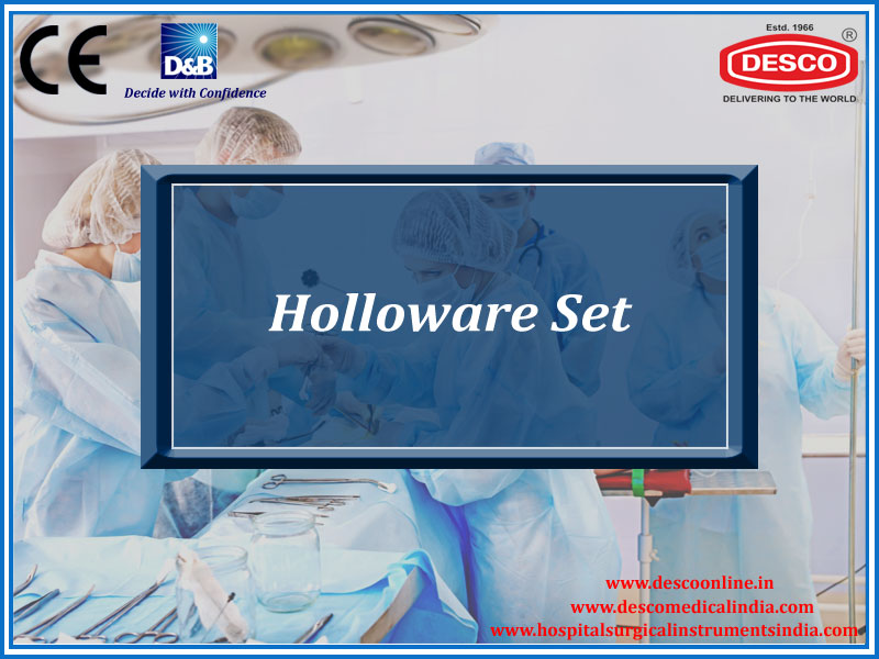 HOLLOWARE SET