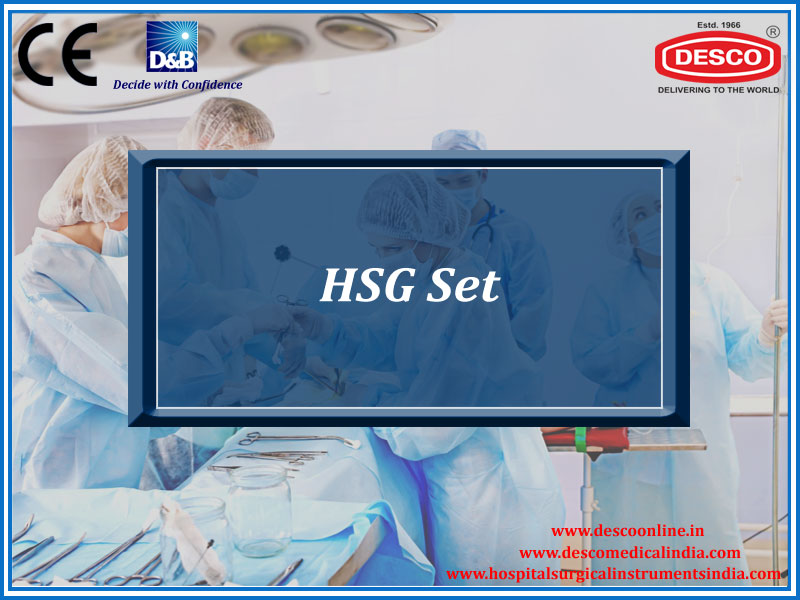 HSG SET (HYSTEROSALPINGOGRAPHY)