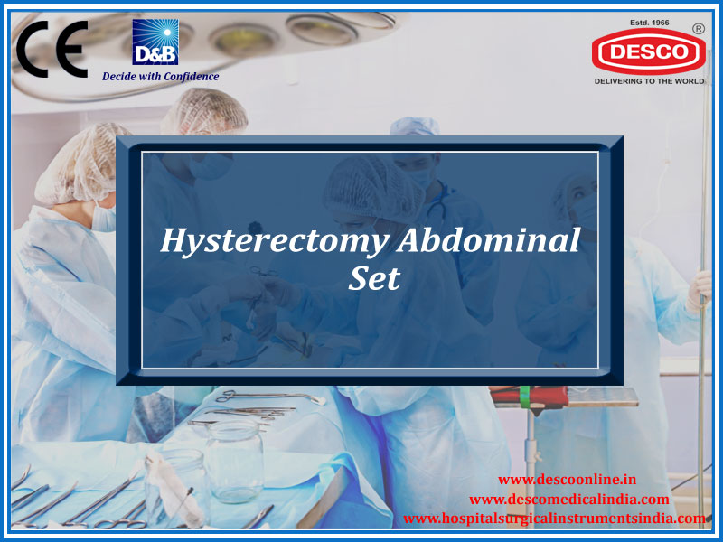 HYSTERECTOMY ABDOMINAL SET
