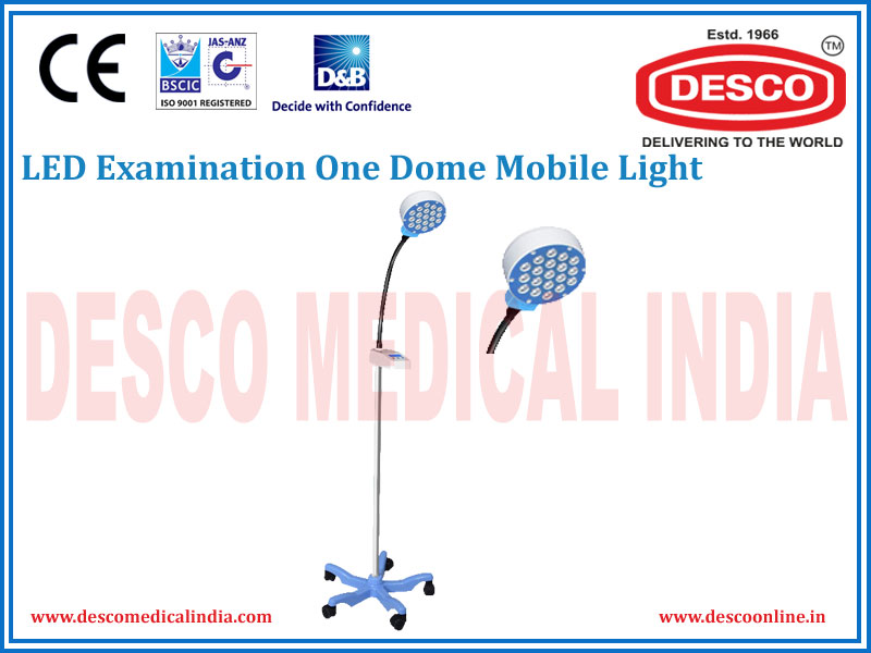 LED EXAMINATION ONE DOME MOBILE LIGHT