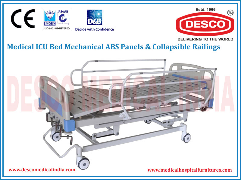 ICU BED MECHANICAL ABS PANELS & COLLAPSIBLE RAILINGS