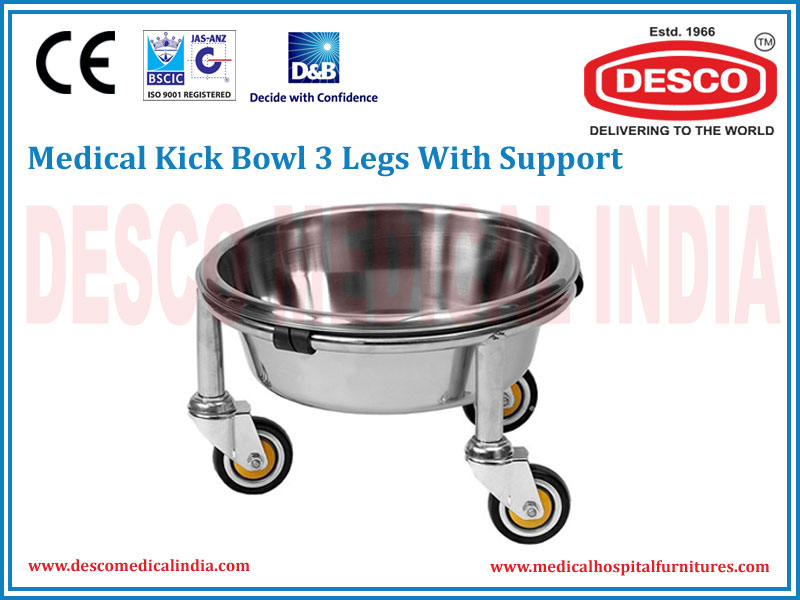 KICK BOWL 3 LEGS WITH SUPPORT