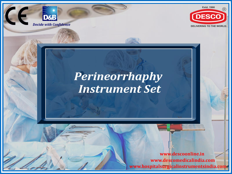 PERINEORRHAPHY INSTRUMENT SET
