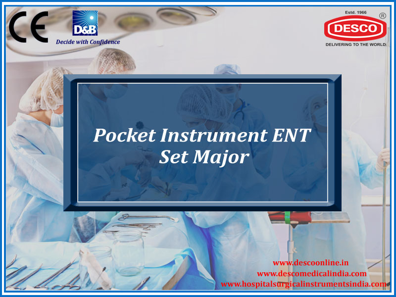 POCKET INSTRUMENT ENT SET MAJOR