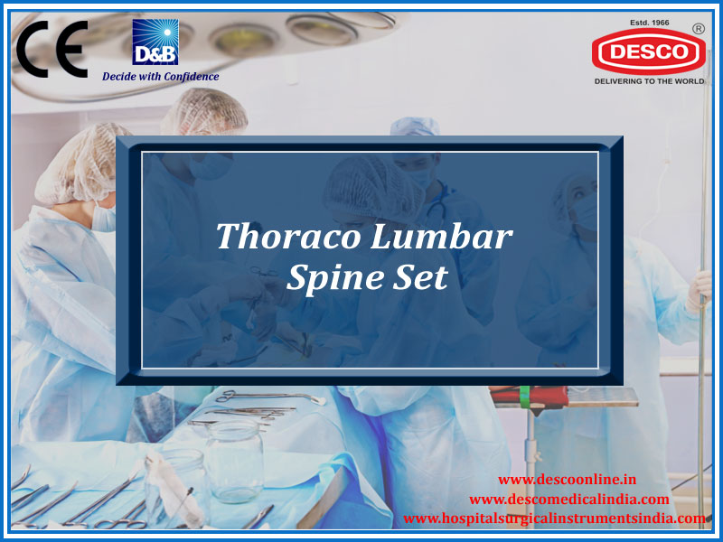 THORACO LUMBAR SPINE SET