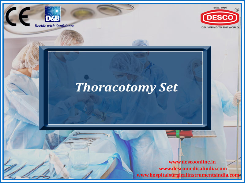 THORACOTOMY SET